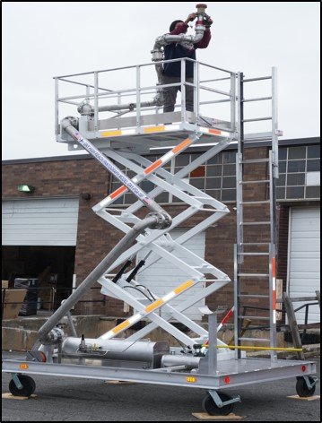 High Reach Scissor Lift Pantograph